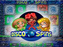 Виртуальная азартная игра Диско Спины для заработка реальных денег