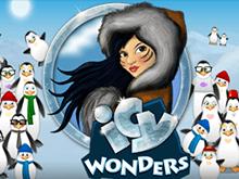 Автомат Icy Wonders в казино для заработка биткоинов